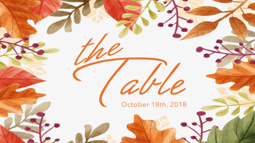 The Table – A Night of Women's Ministry